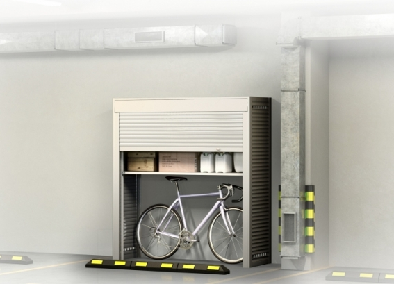 Шкаф для машиноместа в паркинге 1900х2000х600