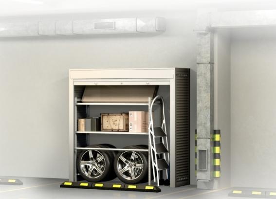 Шкаф в паркинг 2000х2000х600