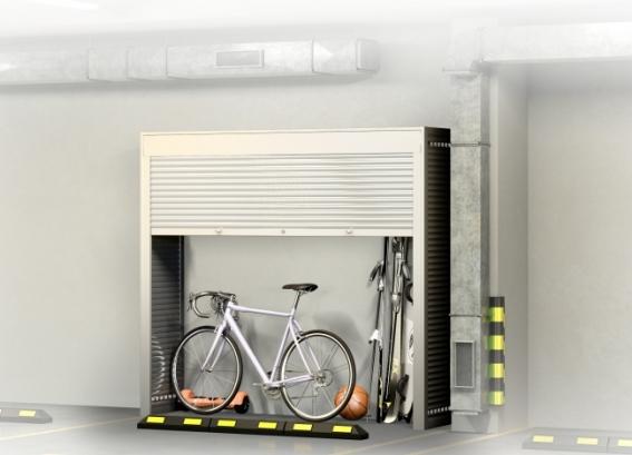Шкаф в паркинг 2200х2400х600