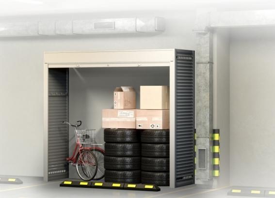 Шкаф в паркинг 2600х2300х800
