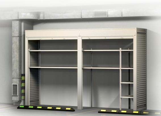 Шкаф в подземный паркинг 2300х3500х900