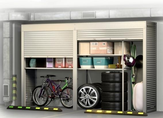 Шкаф в паркинг 4000х2500х900