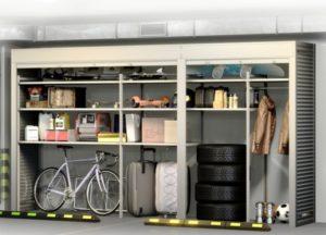 Шкаф в паркинг 4500х2500х900