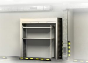 Шкаф на подземной парковке 2200х2200х600