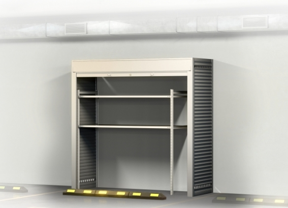 Ролл шкаф в паркинг 2200х2200х800